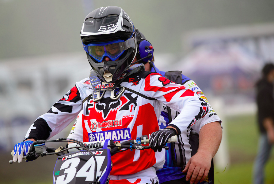 Remember the name - Dylan Wright - for 2015. After an and down rookie year, he's coming guns a blazing into the 2015 Rockstar Energy Drink Motocross Nationals. Photo by James Lissimore