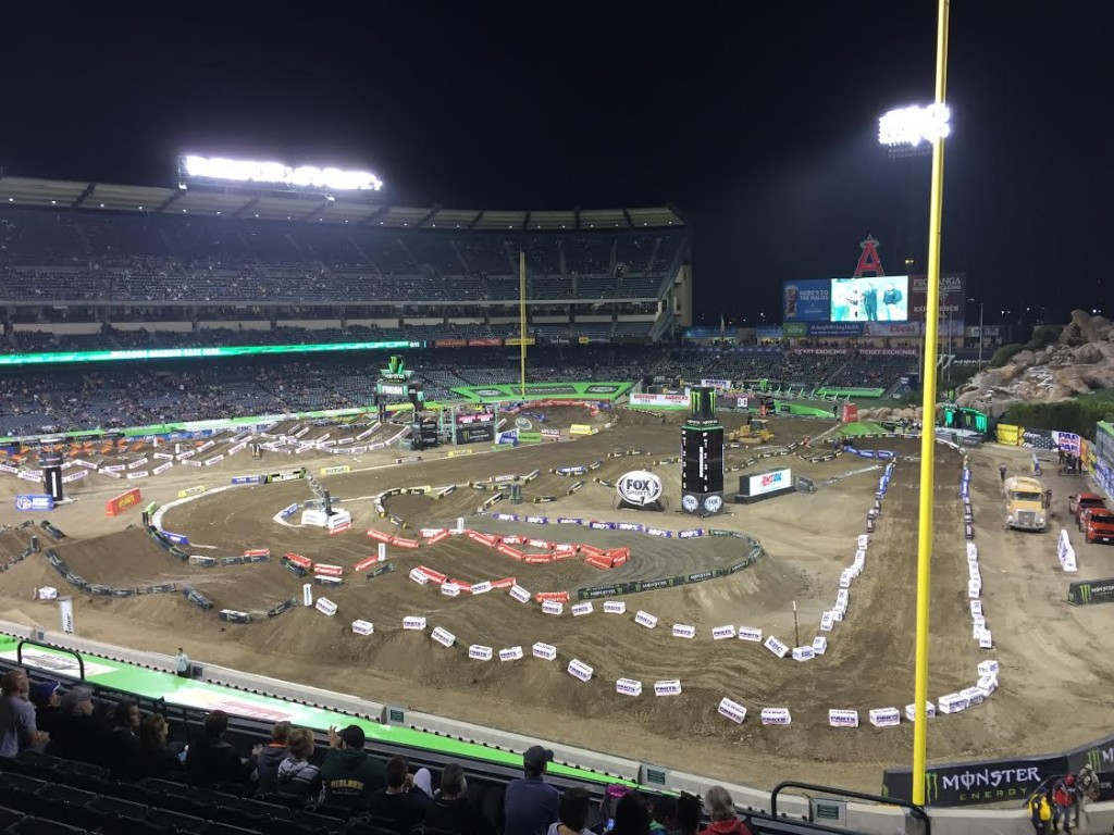 Angel Stadium in Anaheim, California - the cornerstone to MX101's Factory Fan Experience!